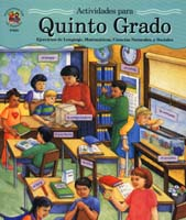 Activity Books in Spanish, Quinto Grado