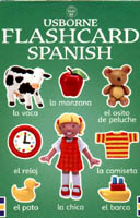 Usborne Flashcard Spanish